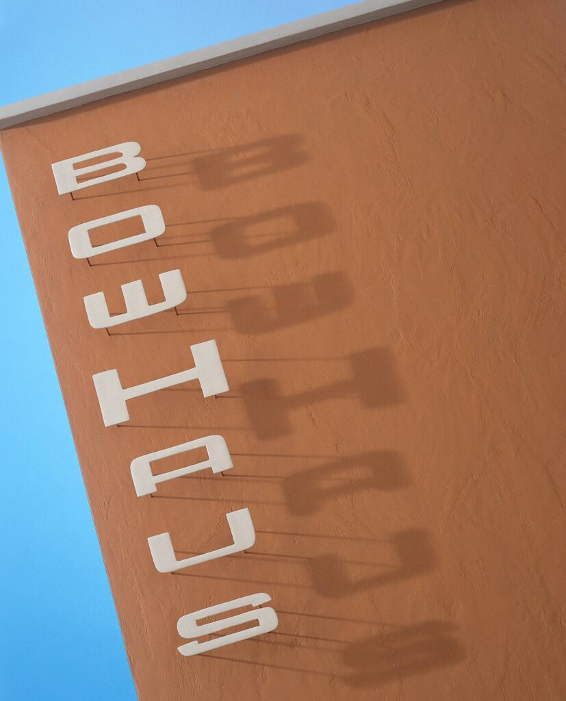 BowHaus Letters with Shadow